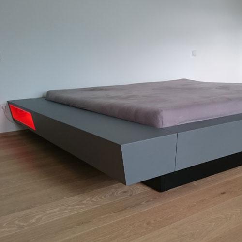 Referenz Designbett - Schreinerei Bergmann - Küssaberg-Kadelburg