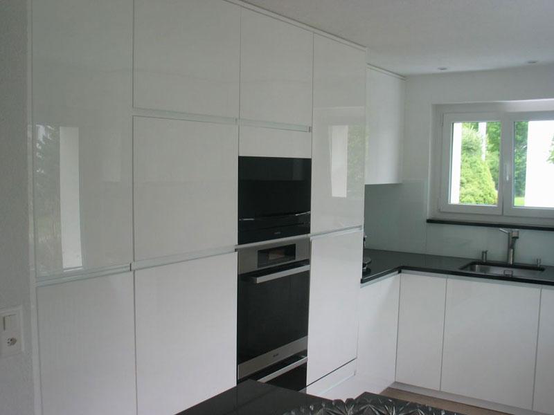 Referenz Küche weiss - Schreinerei Bergmann - Küssaberg-Kadelburg