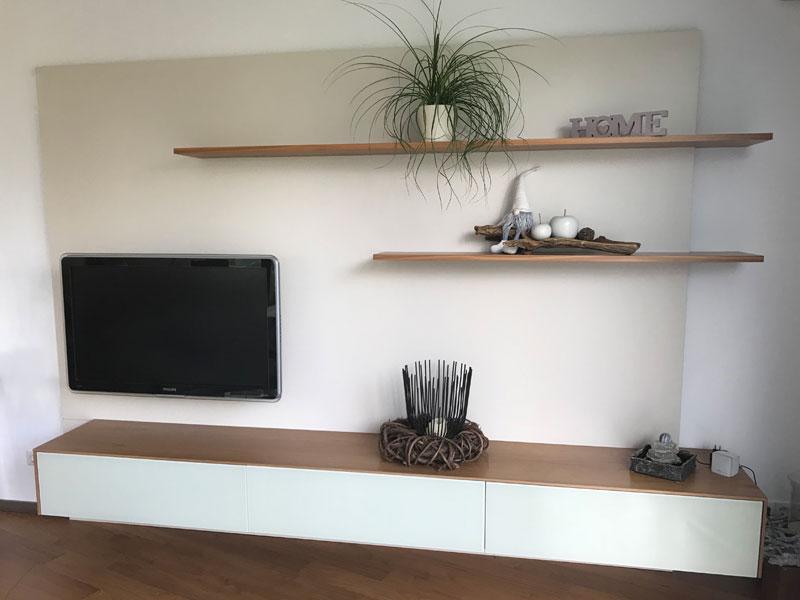 Referenz TV-Board - Schreinerei Bergmann - Küssaberg-Kadelburg