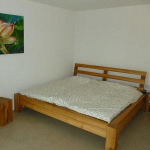 Beitragsbild Bett in Kirschbaum - Schreinerei Bergmann - Küssaberg-Kadelburg